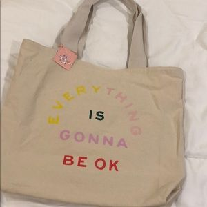 "ban.dō ""Everything Is Gonna Be OK"" Tote"